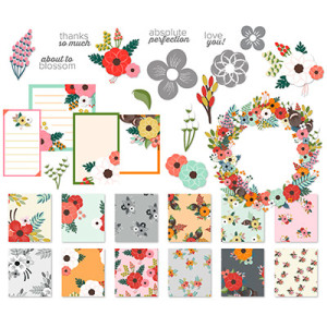 About to Blossom August Kit