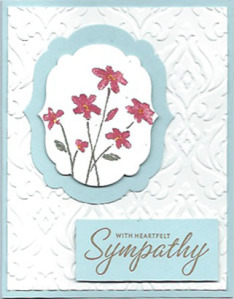Close as a Memory traditional sympathy card