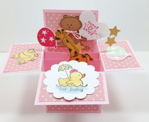 Baby Pop-up Box Card