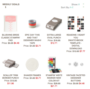 Weekly Deals for 1-21-14
