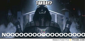 Tax Day meme