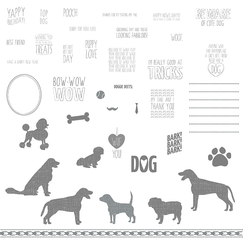 stamps from Paw Parade Kit