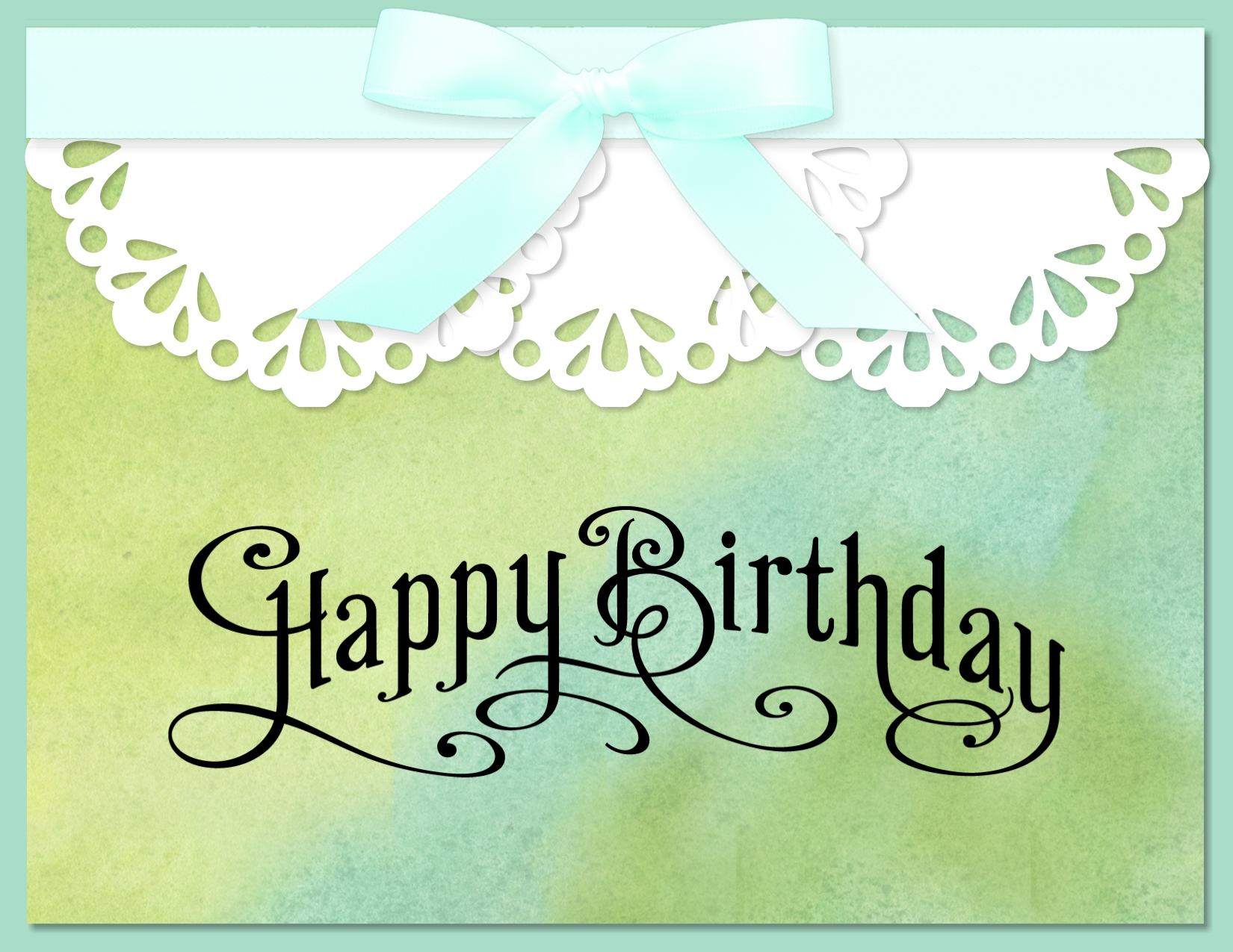Digital Birthday Card using Perfectly Penned Stamp Brush Set