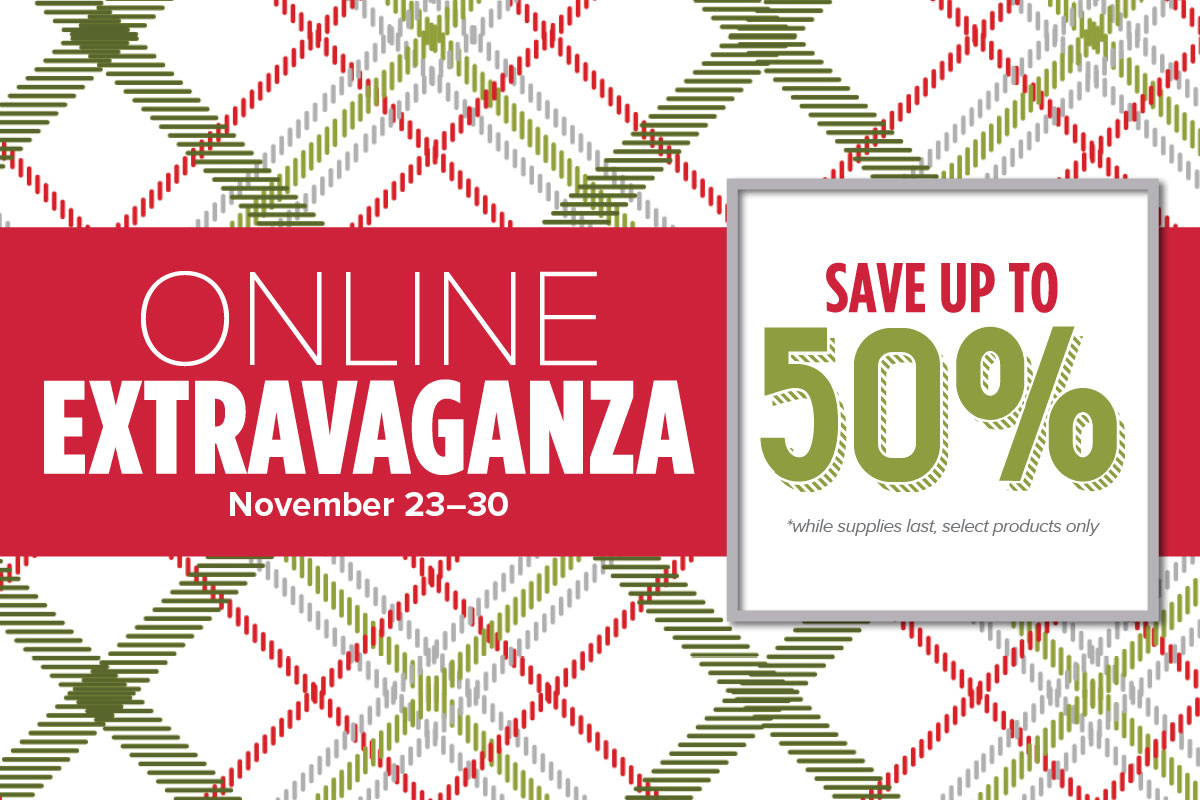 Stam[in' Up! Online Extravaganza begins Nov 23, 2015