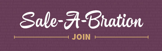 Join Stampin' Up! during Sale=a=bration and get extra stamps