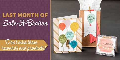 Header for last month of Sale-A-Bration