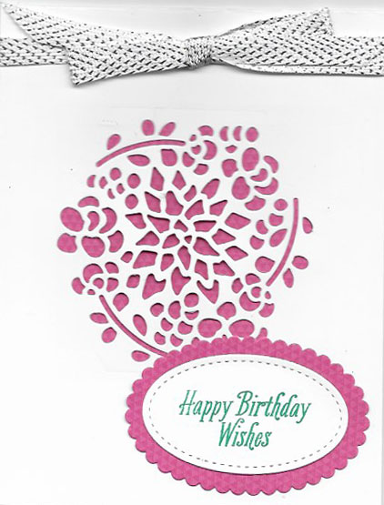 handmade birthday card created with Window Box Thinlits Die