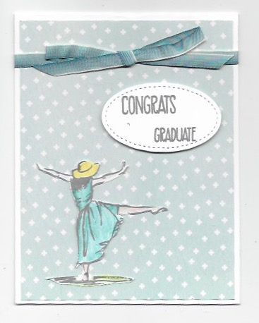 Graduation card created with Beautiful You and Sunshine Sayings stamp sets