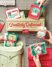 photo of front of 2017 Holiday catalog