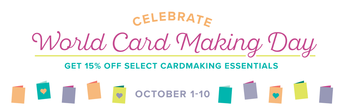 World Card-making Day header