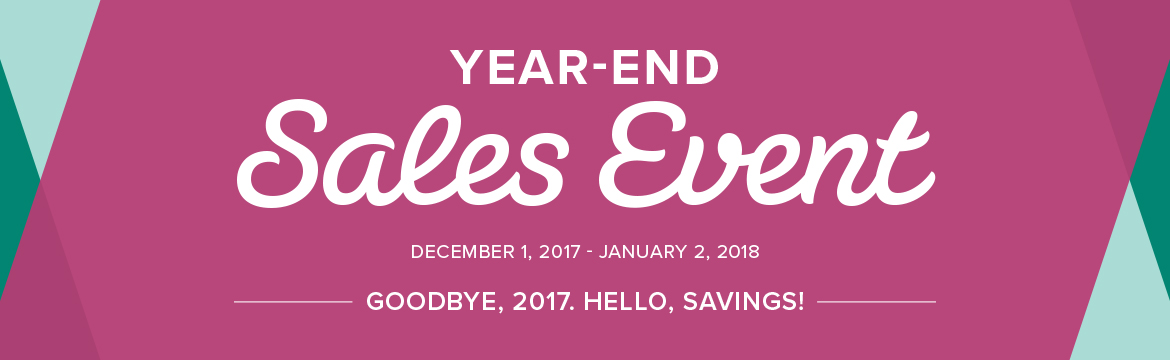 Header for Year-end Sales Event