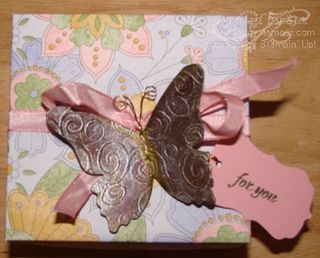 Afternoon Tea DSP box with Butterfly