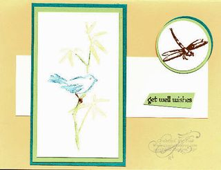 Angela's Card Stamping 411 challenge