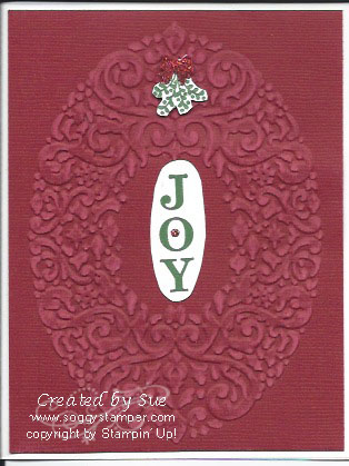 Christmas Joy Sanded Co'ordinations