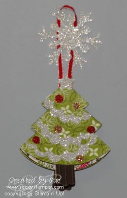3-d Christmas tree ornament